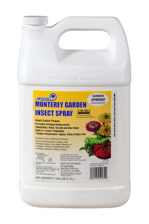 Monterey Garden Insect Spray with Spinosad Organic 4ea/128 fl oz