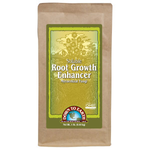 Down To Earth Root Growth Enhancer Mycorrhizal Fungi Soluble OMRI 6ea/1 lb