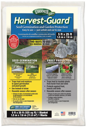 Dalen Gardeneer Harvest Guard 12ea/5Ftx25 ft