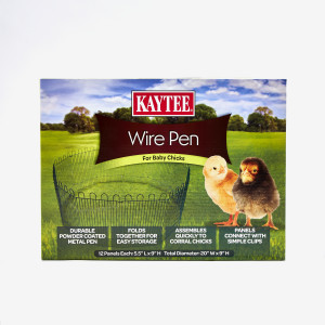 Kaytee Chicken Wire Pen for Baby Chicks 1ea/20Inx9 in