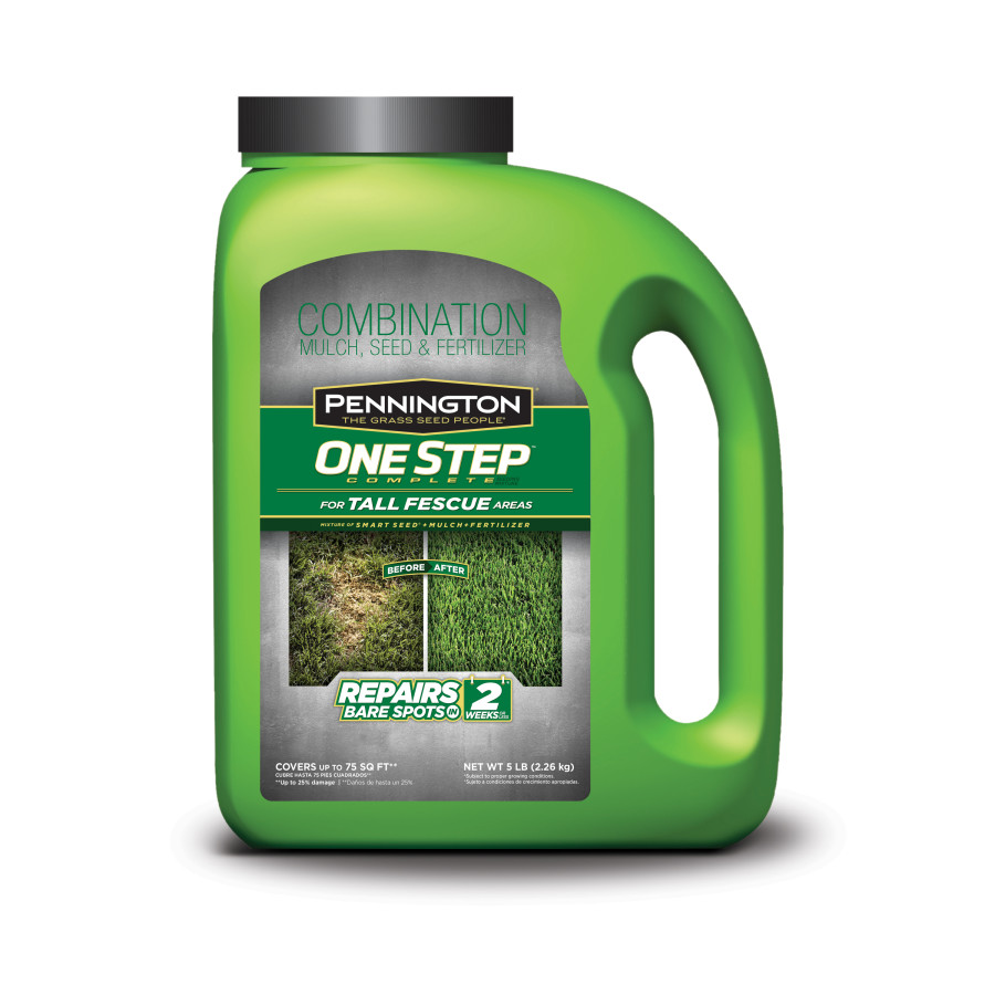 Pennington One Step Complete Tall Fescue Mulch Jug 4ea/5 lb