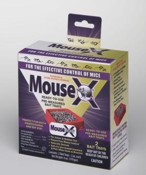 RatX MouseX Ready To Use Bait Tray 12ea/2 pk