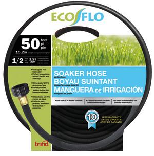 Bond Ecoflo Garden Soaker Hose Black 5ea/1/2Inx50 ft