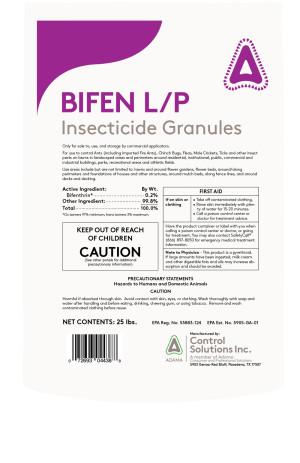 Control Solutions Bifen L/P Insecticide Granules 1ea/25 lb