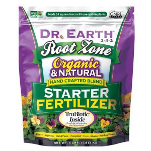 Dr. Earth Root Zone Premium Starter Fertilizer 2-4-2 12ea/4 lb