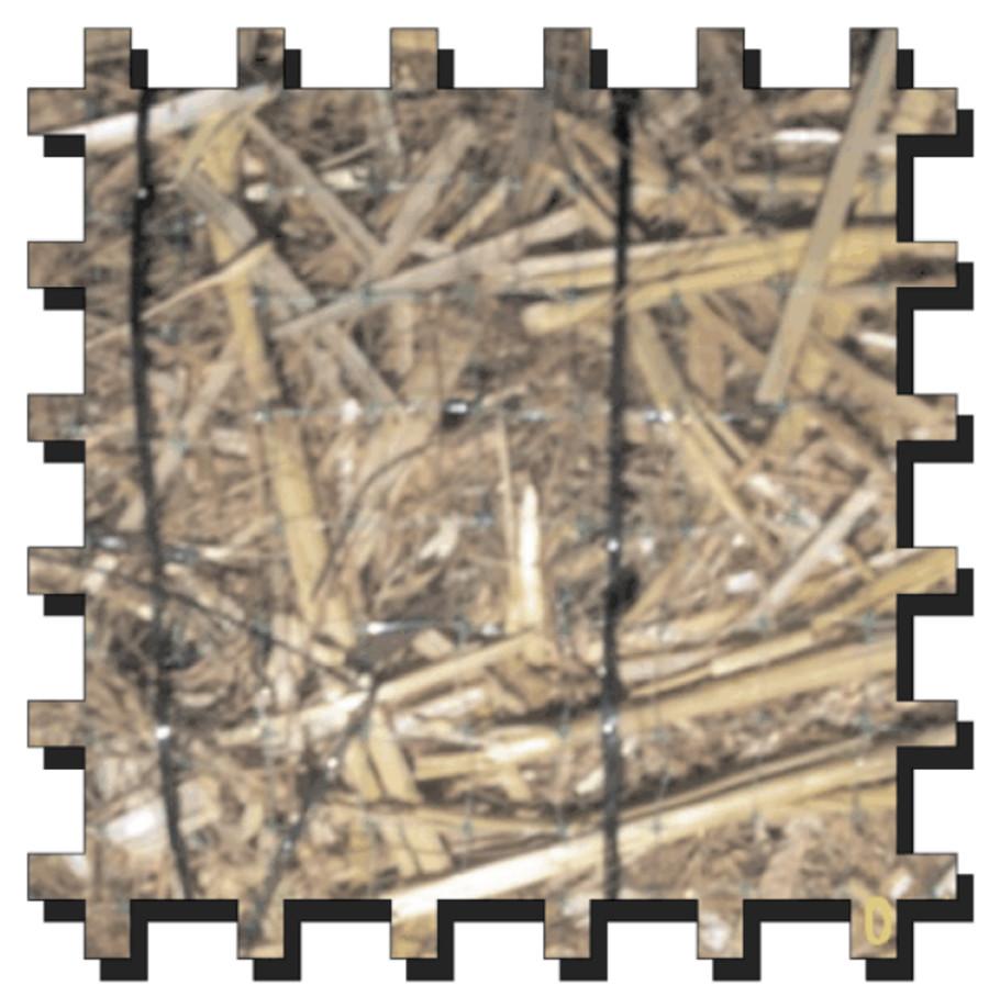 Erosion Tech ETSC-70/30 Erosion Control Blanket Straw-Coco
