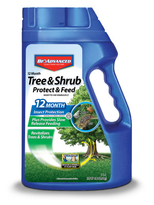 BioAdvanced 12 Month Tree & Shrub Protect & Feed Granules 2-1-1 6ea/4 lb