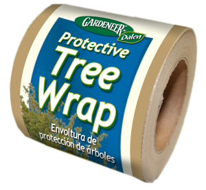 Dalen Gardeneer Protective Tree Wrap Brown 15ea/3Inx50 ft