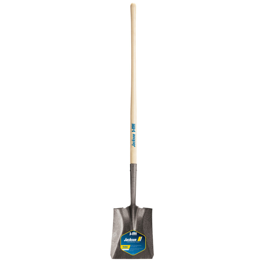 Ames Jackson Kodiak Square Point Shovel with 48in Handle Brown 6ea