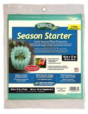 Dalen Gardeneer Season Starter Plant Protector Aqua 9ea/18Inx17 in