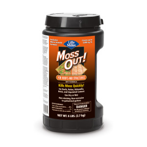 Lilly Miller Moss Out! For Roofs And Structures Dry Formula 8ea/6 lb