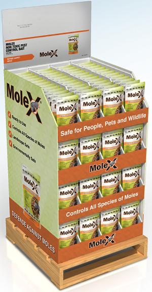 RatX MoleX Defense Against Moles 192ea/192 ct Display 8 oz