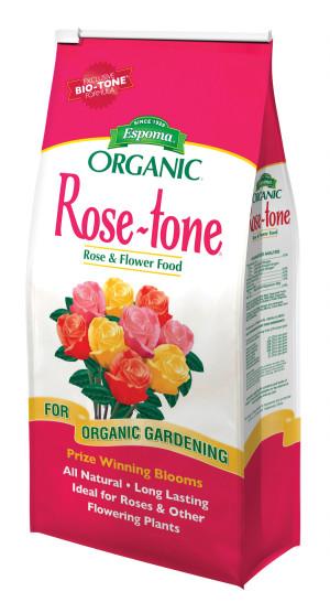 Espoma Organic Rose-tone Rose & Flower Food 4-3-2