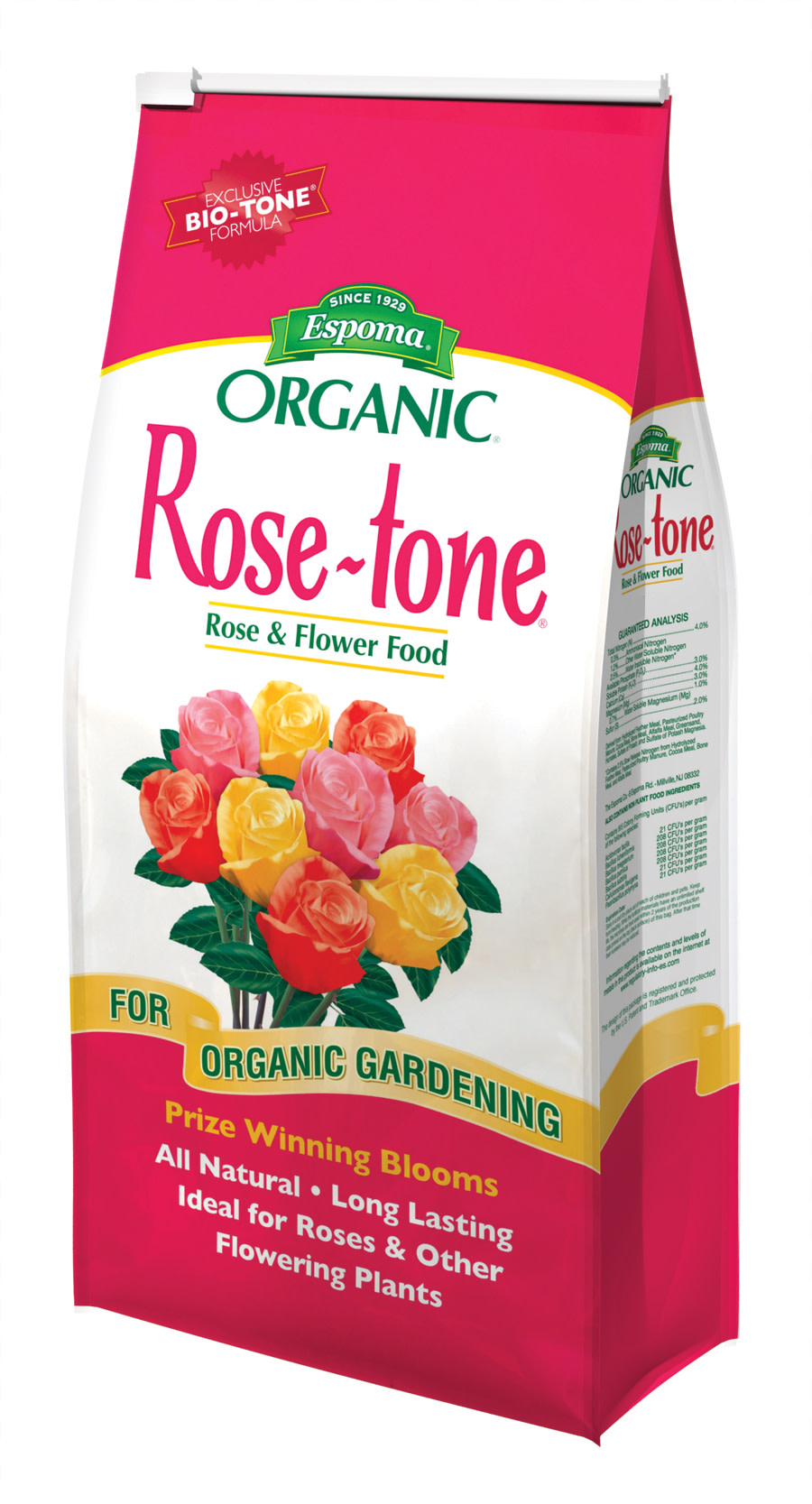 Espoma Organic Rose-tone Rose & Flower Food 4-3-2