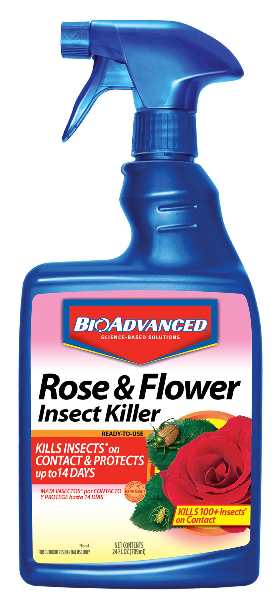 BioAdvanced Rose & Flower Insect Killer Ready To Use 12ea/24 oz