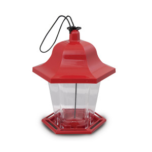 Pennington Songbird Lantern Feeder (Canada) Red 4ea/6.75 X 6 X 8.25 in