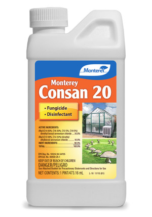 Monterey Consan 20 Fungicide Disinfectant Deodorizer Concentrate 6ea/16 fl oz