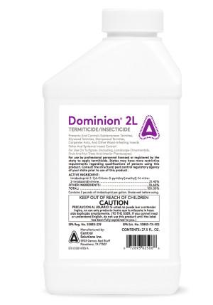 Control Solutions Dominion 2L Termite Killer & Insecticide Concentrate 6ea/27.5 oz