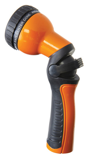 Dramm One Touch™ Revolution 9-Pattern Spray Gun Carded Orange 6ea
