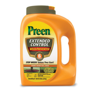 Preen Extended Control Weed Preventer Bottle 4ea/4.93 lb
