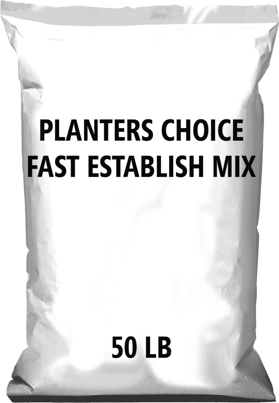 Pennington Planters Choice Fast Establish Mix 1ea/50 lb