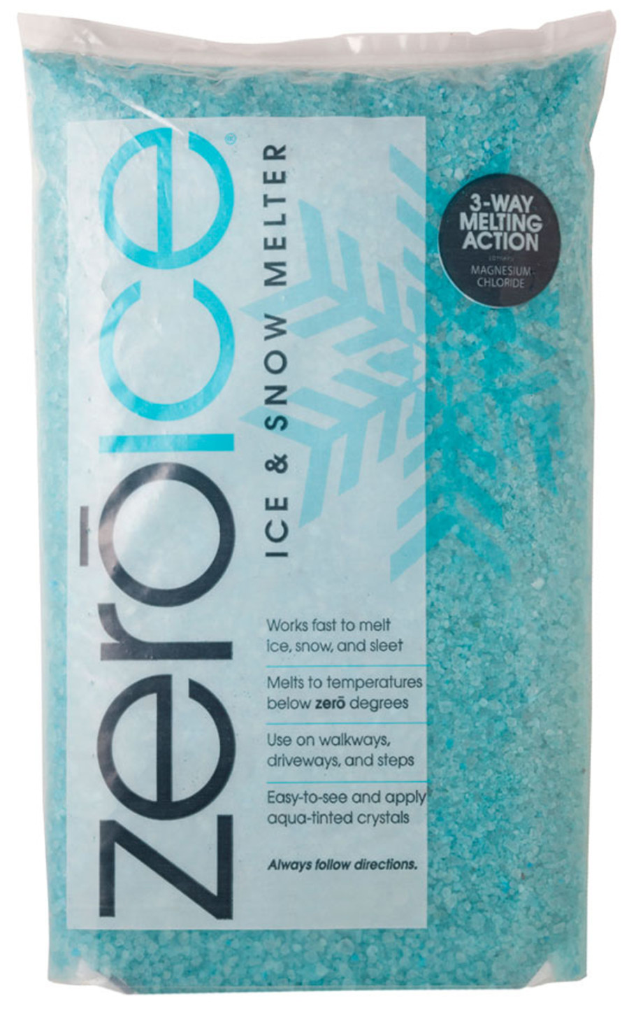 Howard Johnson Zero Ice & Snow Melter Bag 4ea/10 lb