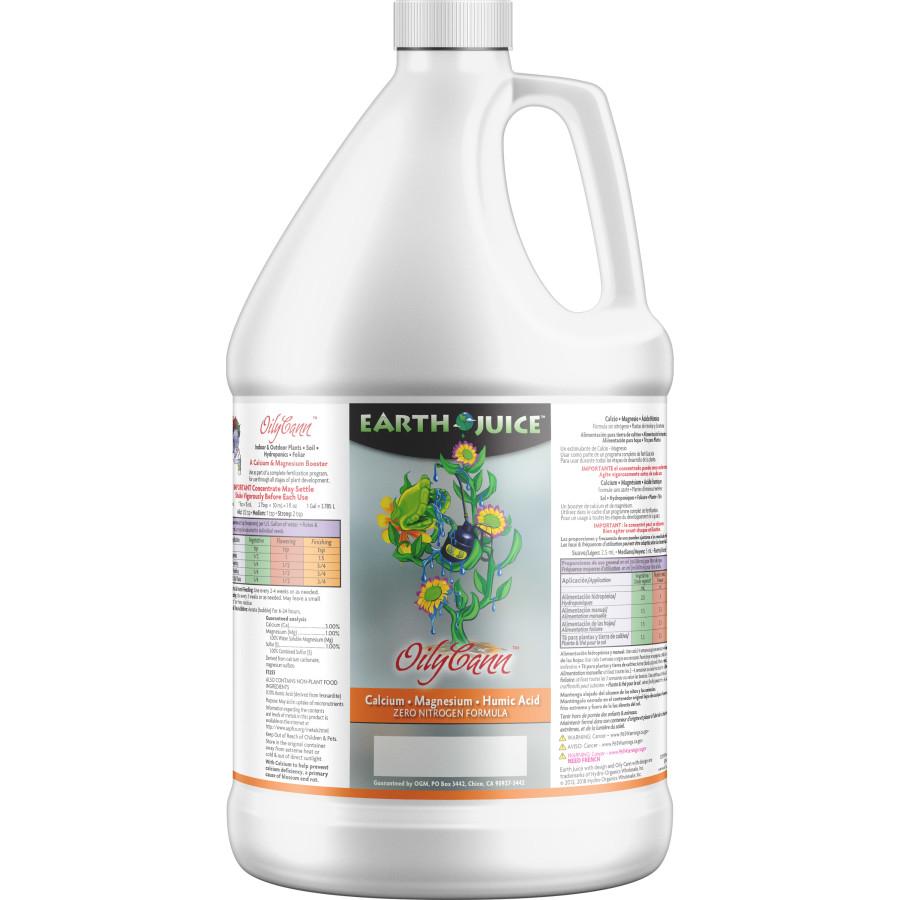 Earth Juice OilyCann Calcium, Magnesium & Humic Acid Supplement 4ea/1 gal