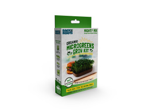 Back to the Roots Organic Microgreens Grow Kit Value Pack w/ Clipstrip Mighty Mix 12ea