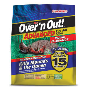 Over 'n Out Fire Ant Killer Mound Eliminator Granules 4ea/4 lb