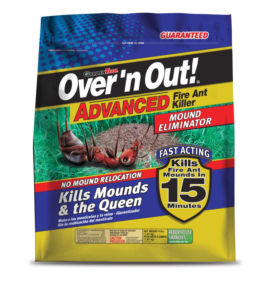 Over 'n Out Fire Ant Killer Mound Eliminator Granules 4ea/4 lb