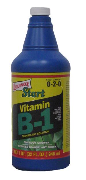 Liquinox Start Vitamin B-1 Transplant Solution 0-2-0 12ea/32 oz