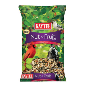Kaytee Nut & Fruit Blend Food Bag 6ea/5 lb