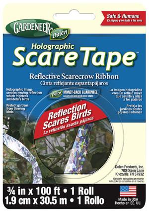 Dalen Gardeneer Holographic Scare Tape 12ea/3/4Inx100 ft