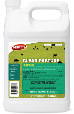 Control Solutions Pasture Weed Killer Concentrate 4ea/1 gal