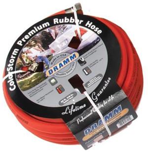 Dramm ColorStorm Premium Rubber Hose Red 6ea/5/8Inx50 ft