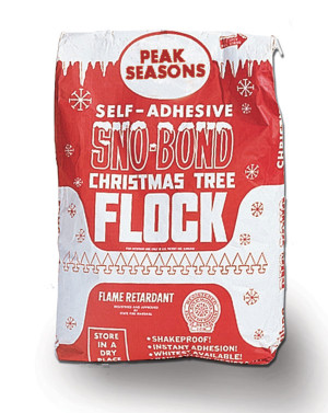 Peak Seasons Sno-Bond Christmas Tree Flock White 1ea/25 lb