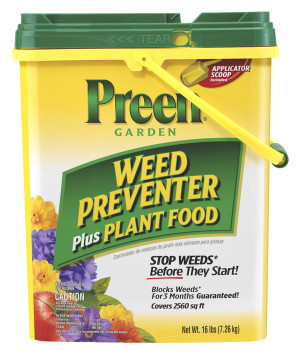 Preen Garden Weed Preventer Plus Plant Food 1ea/16 lb