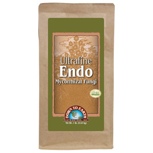 Down To Earth Ultrafine Endo Mycorrhizal Fungi OMRI 6ea/1 lb