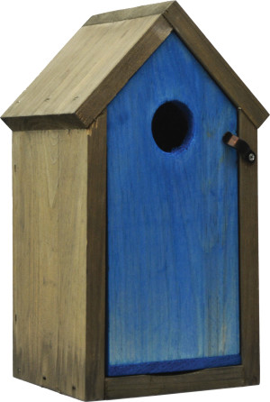 Pennington Stained Bluebird House Blue & Gray 2ea