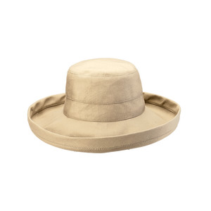 Goldcoast Sunwear Womens Retreat Hat Sand 6ea/Adjustable