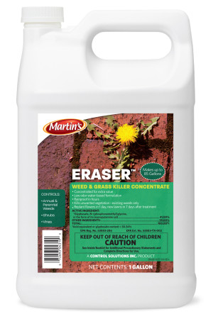 Control Solutions Eraser Weed & Grass Killer 41% Concentrate 4ea/1 gal