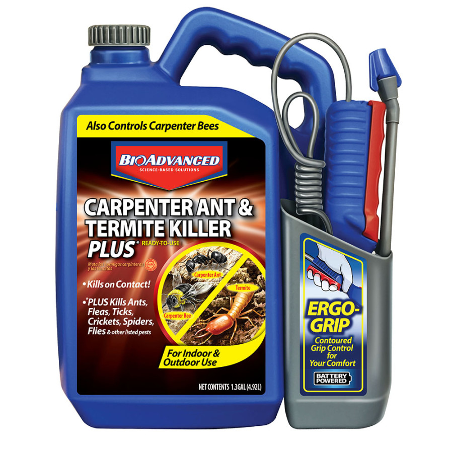 BioAdvanced Carpenter Ant & Termite Killer Ready to Use Power Sprayer 4ea/1.33 gal