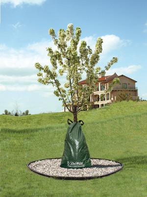 DeWitt Dew Right Slow Release Tree Watering Bag Green 12ea/15 gal