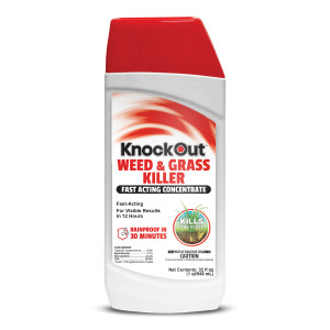 Knockout Weed and Grass Fast Acting Con 18%+ 12ea/.73 12/32 oz