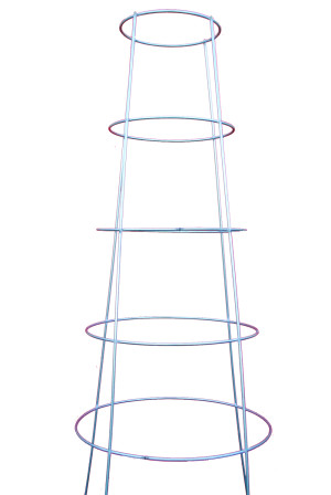 Midwest Wire Works Inverted Monster Cage 4-Leg 5-Ring Galvanized 4ea/60 in
