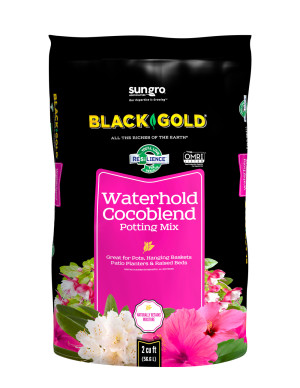 Black Gold Waterhold Cocoblend Potting Soil Organic 5ea/2Cuft