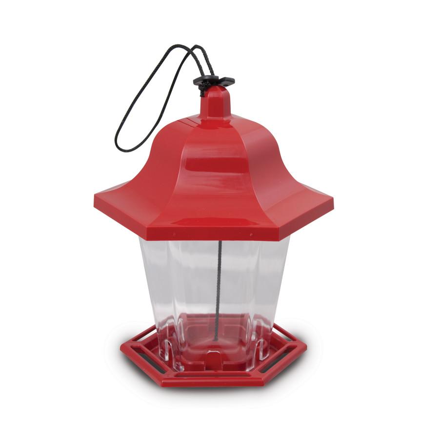 Pennington Songbird Lantern Feeder (Canada) Red 4ea/6.75 X 6 X 8.25 in
