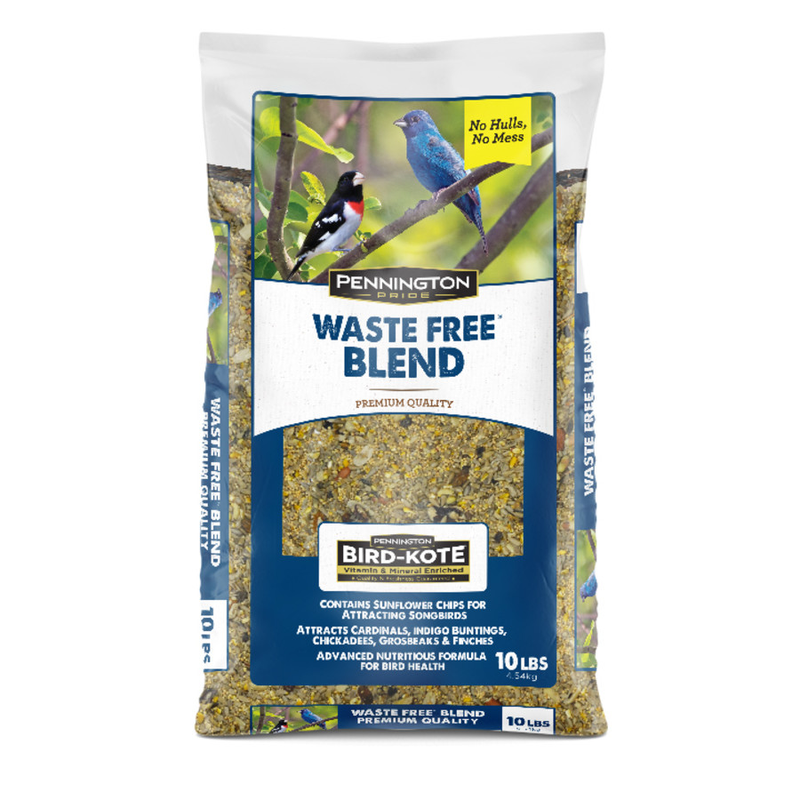 Pennington Pride Waste Free Blend Bird Food 6ea/10 lb