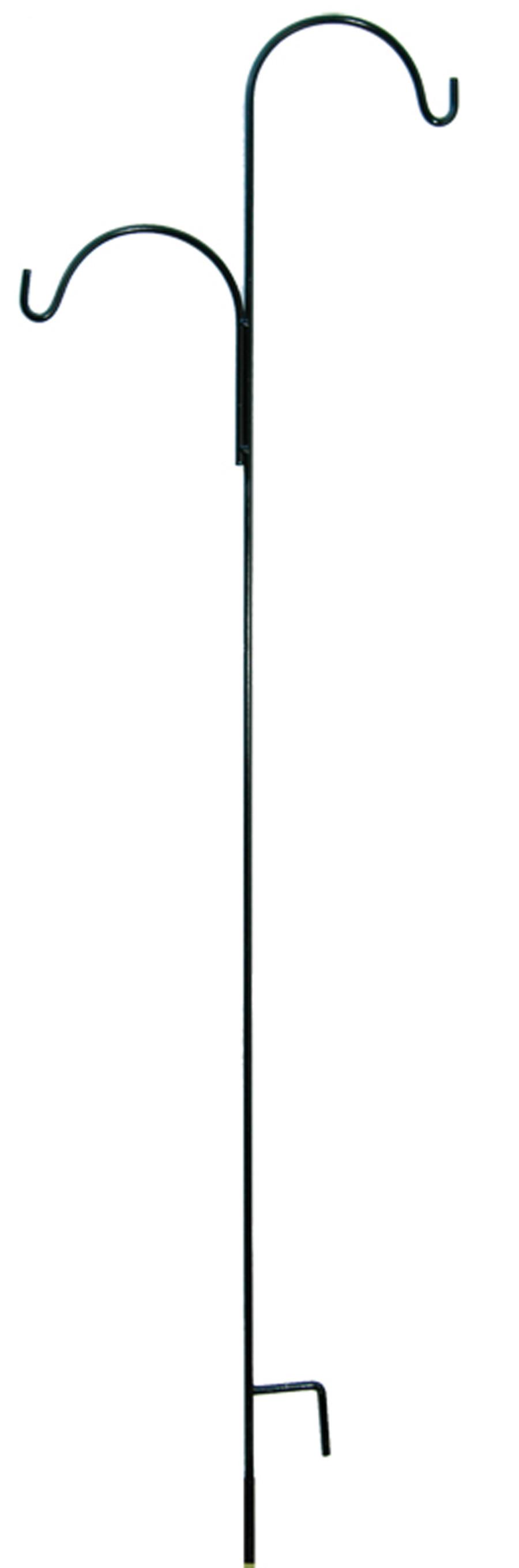 American GardenWorks Tall Hangers Offset Black 10ea/90Inx24 in