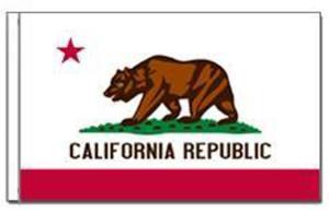 Flag Zone California State Flag 6ea/3Ftx5 ft